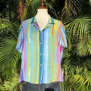 Jams World Hawaii short sleeve button up shirt